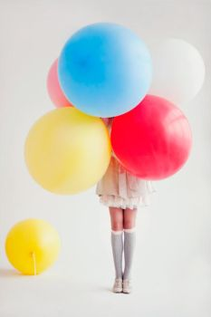 just balloons by Lucem