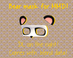 [PMD part download]Bear mask by Yowafan