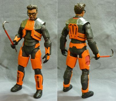 1/6 scale Gordon Freeman figure by botmaster2005