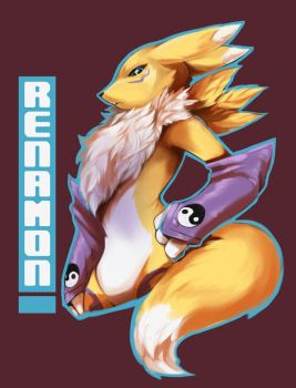 Renamon by PurpleLemons