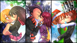 Christmas Couples by LorSean