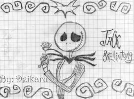 Jack Skellington Madness by deikaru