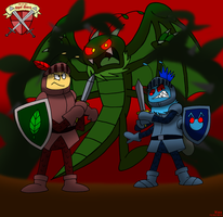 Bug Knights by BluebottleFlyer