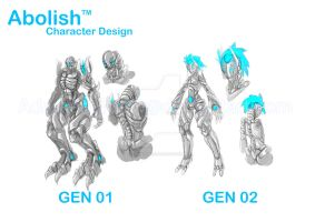 Abolish Character Design Generation by AdamentSnow