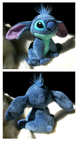 Stitch Sitting Bean Bag Plush by The-Toy-Chest
