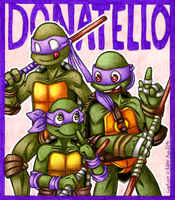 Donatello the brains! by Captain--Ruffy