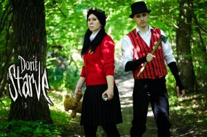 Don't Starve Cosplay by case15