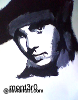 Tom Kaulitz painting by mont3r0