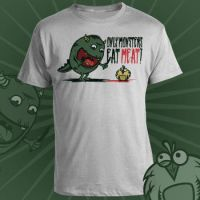 only monsters eat meat shirt by artcoreillustrations