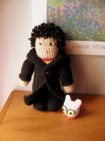 Amigurumi Harry Potter by WireMySoul