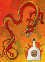 Chinese Fire Liquor by kookybat