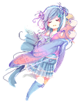 Com// bunnies and sheepies by Little-Miss-RiikoRed