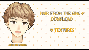 Male hair from The Sims 4 DOWNLOAD by SunnyFriend