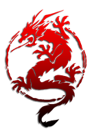 Chinese Dragon Logo/Vector by Leafpenguins