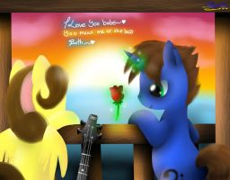 L-R Contest entry: Double Love on the Deck by Spice5400