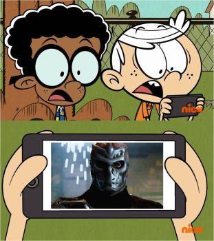 Lincoln's And Clyde's Reaction To Jason x by xxphilipshow547xx