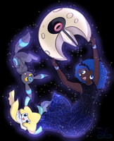 Pokemon Trainer: Princess Luna by Sigma-the-Enigma