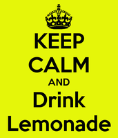 Keep calm and drink Lemonade by asymmetrical-wings