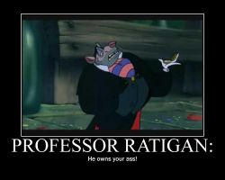 Oh Ratigan... by Yugicoralinefan