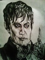 Barnabas Collins by Panicatthedisco7