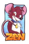 My first badge from MaryMouse! by Zen-with-a-bat
