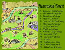 Heartwood Forest Map by SuperAshBro