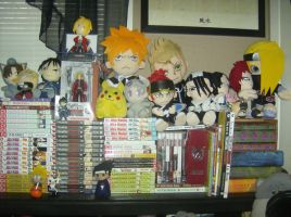 My anime Collection by Fullmetalwolfgirl