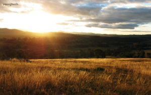 Canberra Sunset by youngbeth
