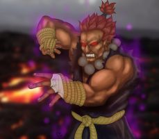 Gouki Street Fighter IV (variant) by Patricin