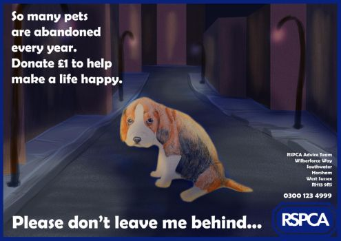 RSPCA Poster by xArcox