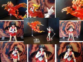 Sailor Mars SH firebird by TennyCap