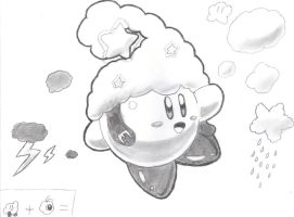 Cloud Kirby by keke74100