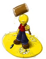 George, the anti-smiley by gts