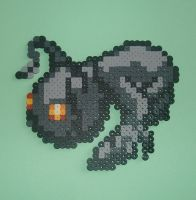 Heartless Shadow 8 Bit Pixel Art by smallrinilady