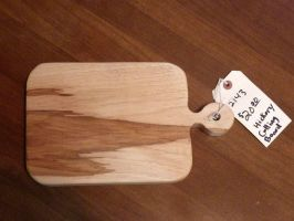 Hickory Cutting Board Rectangle by Lupas-Deva