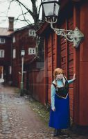 Anna of Arendelle - A frozen shoot by Tiddeli