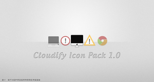 Cloudify Icons Pack v1 by theProgrammer666