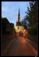 Shortcut to the Church by Mgsblade