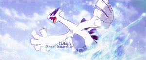 Lugia - Great Guardian by Dhencod