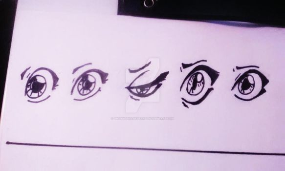 Jade's eyes thru out history, Hint part 1 by universeMadeofArt