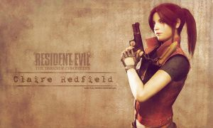 Claire Redfield wallpaper REDC by VickyxRedfield