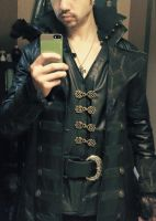 Killian Jones Captain Hook WIP coat by joshspiderman238