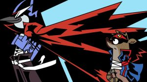 Regular Show x Gurren Lagann by SquizZ