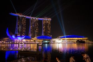 Marina Bay by chemb0t