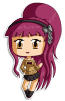[Commission99] Mini Chibi Caronia by izka-197