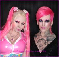 Countess and Jeffree Star by Countess-Grotesque