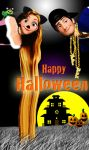 A Tangled Halloween by x12Rapunzelx