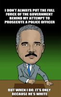 Eric Holder by HeisenburgerKing