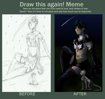Draw this Again Meme by dreamerswork
