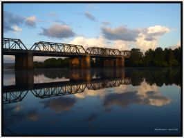 Bridge Reflections 2 by FireflyPhotosAust